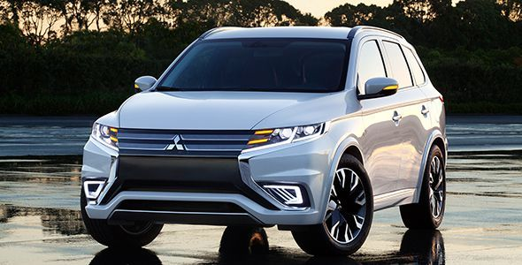 Mitsubishi Outlander PHEV Concept-S, listo para París 2014