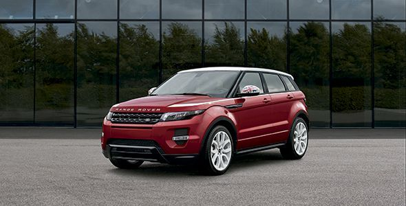 El Range Rover Evoque estrena Head-Up Display láser