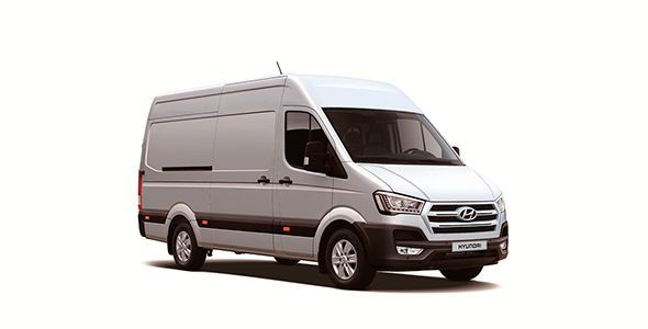 Nuevo Hyundai H350, primer vehículo comercial para el mercado europeo