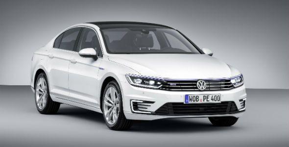 Volkswagen Passat GTE, híbrido enchufable en París