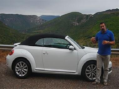 Vídeo prueba VW Beetle Cabrio 2.0 TDi 140 CV MY 2014