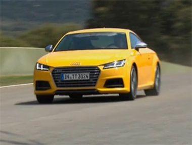 Los nuevos Audi TT y TTS 2015, en vídeo