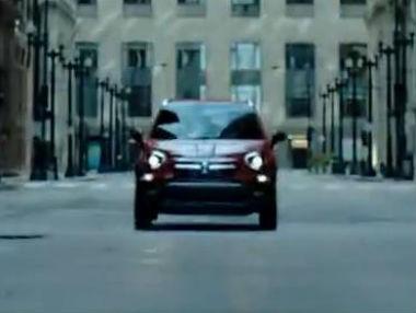 Fiat 500X: ¡primer vídeo!