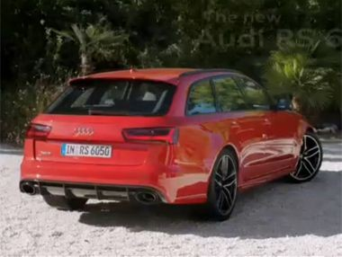 Vídeo: Audi RS6 2015