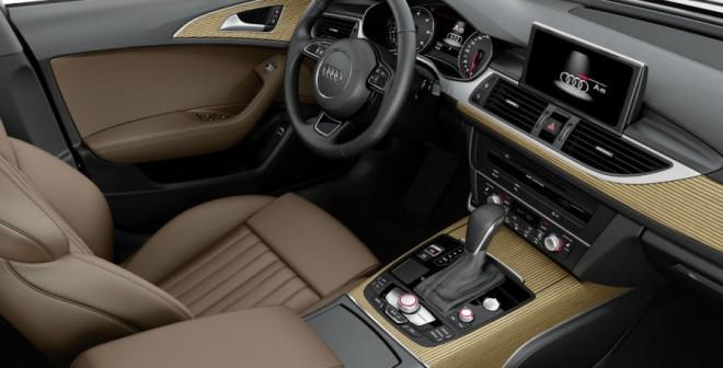 El interior del Audi A6 Avant apenas se diferencia del de la versión convencional.