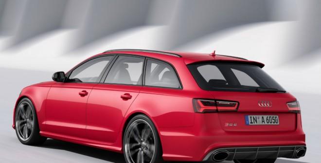 El Audi RS6 Avant es el más radical de la familia A6.