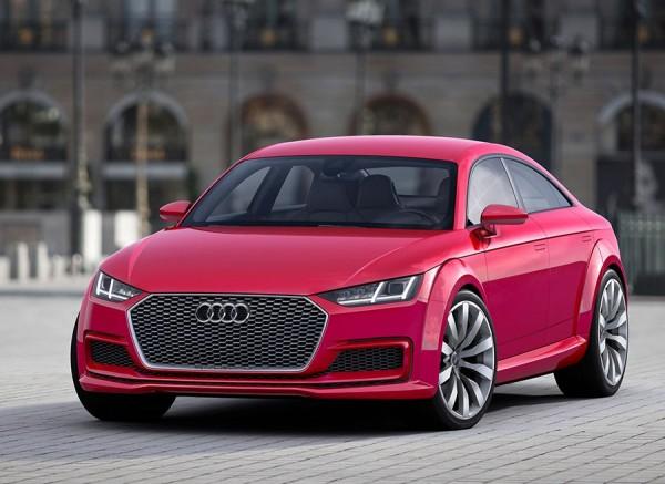 Audi TT Sportback Concept París 2014