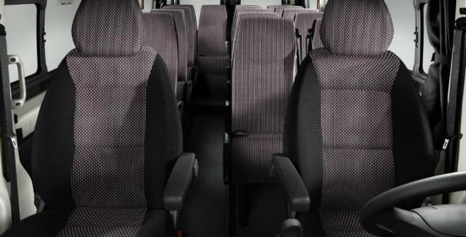 El interior del Citroën Jumper ofrece multitud de posibilidades.