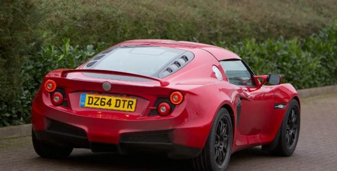 El Detroit SP01 se basa en el Lotus Elise.
