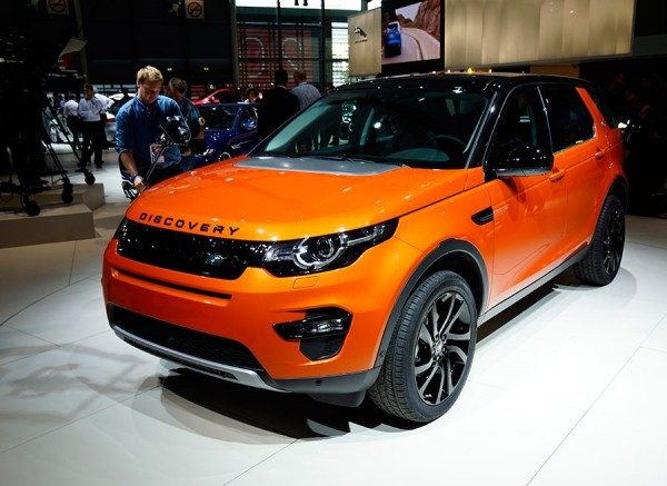 Land Rover Discovery Sport París 2014