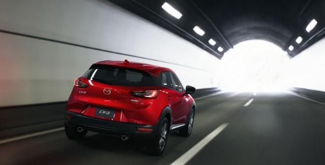 El nuevo Mazda CX-3 contará con tres motores diferentes, dos de ellos de gasolina.