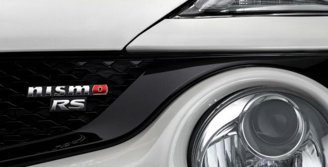 En la parrilla delantera de esta versión del Juke aparece el logotipo Nismo RS. Toda una declaración de intenciones.