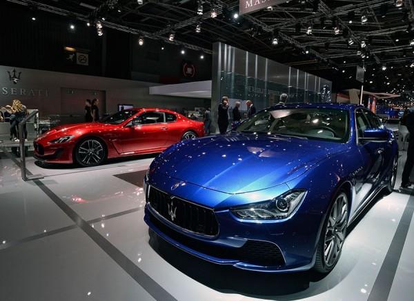 Novedades Maserati Salón París 2014