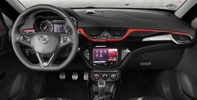 El interior del nuevo Opel Corsa también se ha visto remodelado.