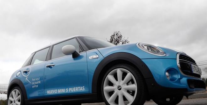 Presentación y prueba del nuevo Mini 5 Puertas 2015, Madrid, Rubén Fidalgo