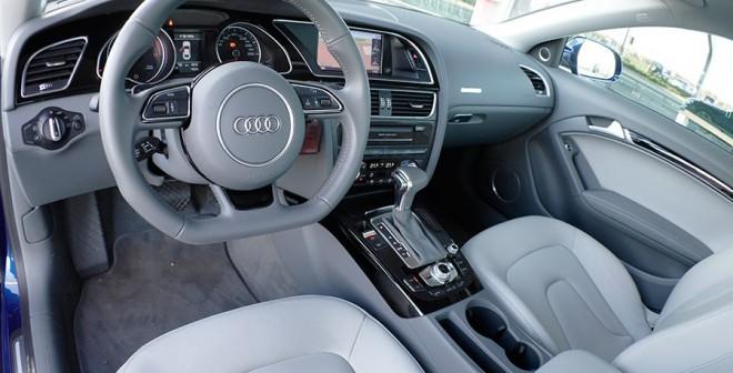 Prueba Audi A5 2.0 TFSi Multitronic, interior, Rubén Fidalgo