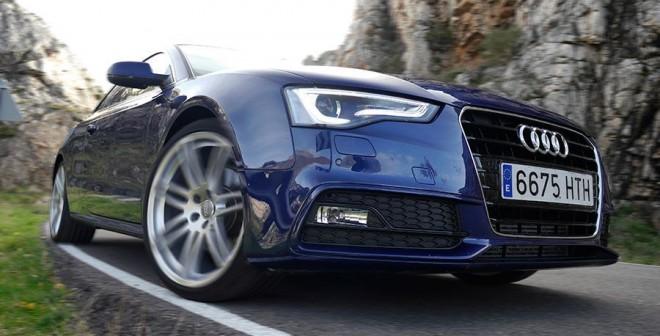 Prueba Audi A5 2.0 TFSi Multitronic, Pantano de Luna, Rubén Fidalgo