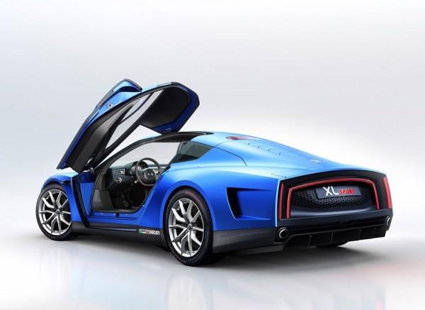 VW XL Sport Concept 2014