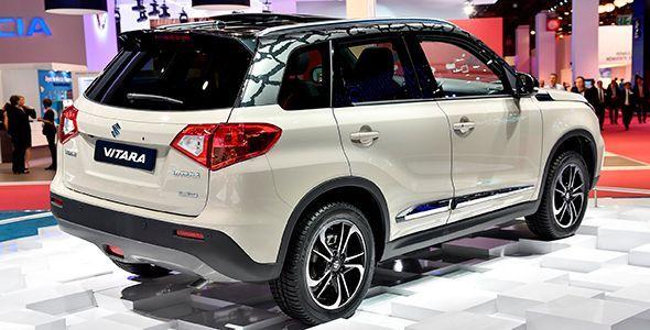 Nuevo Suzuki Vitara: se presenta en el Salón de París