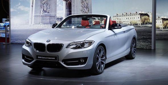 BMW Serie 2 Cabrio, en el Salón de París 2014