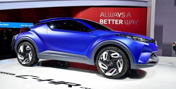 Toyota C-HR, prototipo crossover para el Salón de París