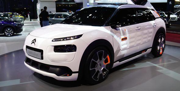 Salón de París: Citroën C4 Cactus Airflow, sólo 2 l/100 km