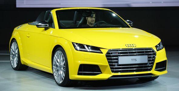 Los Audi TT y TTS Roadster se presentan en París