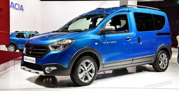 Dacia Lodgy Stepway y Dacia Dokker Stepway