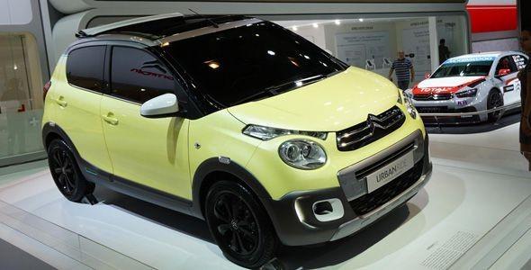 Citroën C1 Urban Ride Concept, presentado