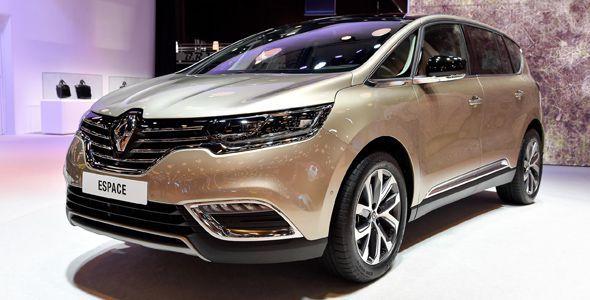 Nuevo Renault Espace, en el Salón de París