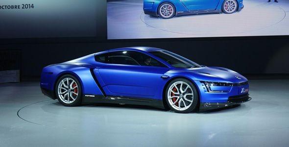 El VW XL Sport debuta en París 2014 con motor Ducati