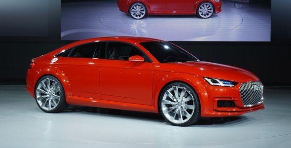 Audi TT Sportback Concept, la sorpresa en París 2014