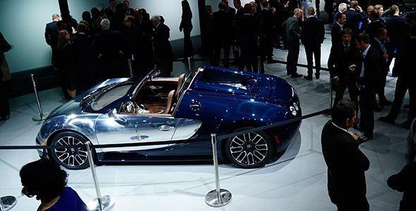 El Bugatti Veyron Ettore Bugatti en el Salón de París 2014