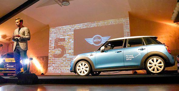 Presentación y prueba del nuevo Mini 5 puertas
