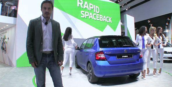 Todos los vídeos del Salón del Automóvil de París 2014