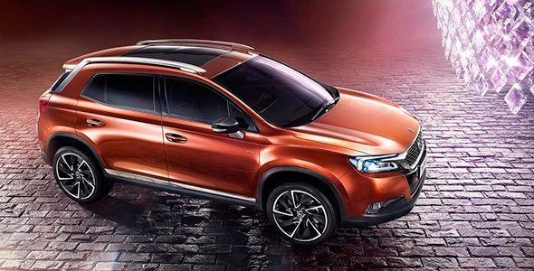 El DS 6, ya a la venta en China sin los chevrones de Citroën
