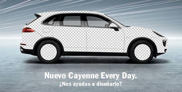 Un Porsche Cayenne diseñado por seguidores de Facebook