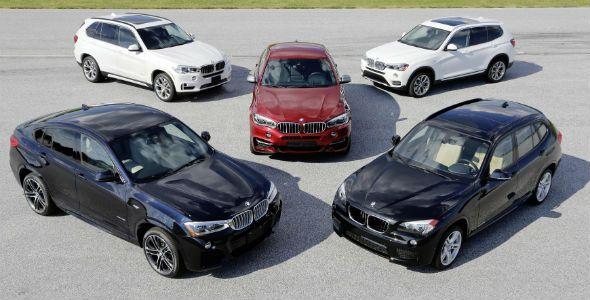 BMW celebra el 15º aniversario de la gama X
