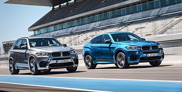 Los BMW X5 M y X6 M se renuevan