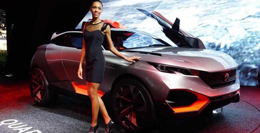 Peugeot Quartz Concept, el SUV del futuro, en París