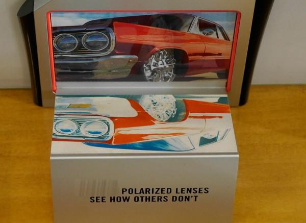 reflejos y gafas polarizadas