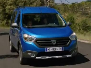 El Dacia Dokker Stepway en movimiento