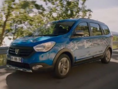 El Dacia Lodgy Stepway, en movimiento