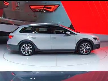 Presentación del Seat León X-Perience en París 2014