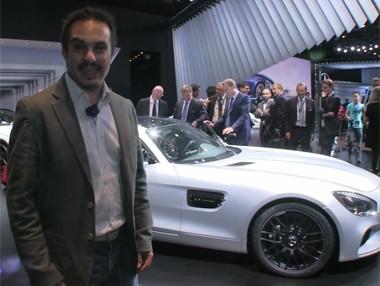 Vídeo: Mercedes AMG GT en el Salón de París
