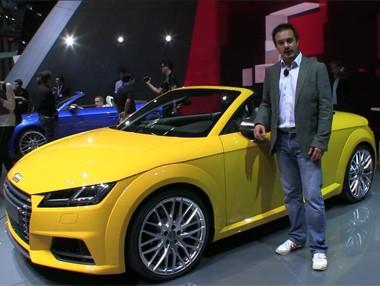 Vídeo: Audi TT Roadster en el Salón de París