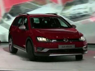Vídeo: Volkswagen Golf Alltrack en el Salón de París