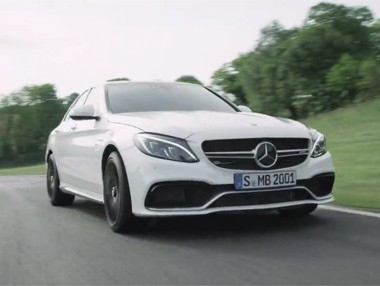 Vídeo: Mercedes C63 AMG en el Salón de París