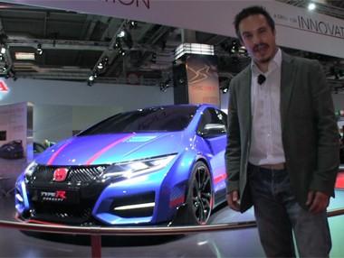 Vídeo: Honda Civic Type R en el Salón de París