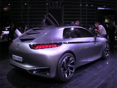 Vídeo: Citroën Divine DS en el Salón de París